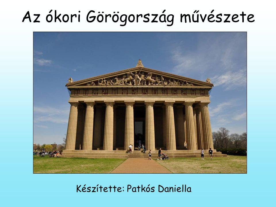 Az ókori Görögország művészete