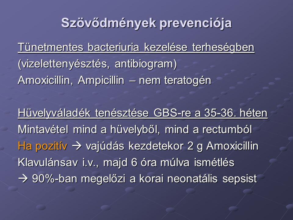 Szövődmények prevenciója