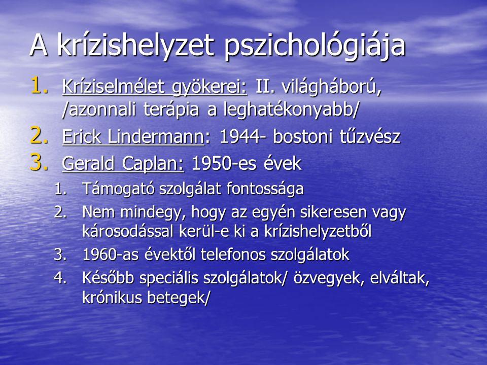 A krízishelyzet pszichológiája