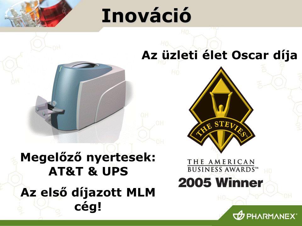 Megelőző nyertesek: AT&T & UPS