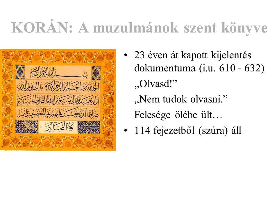 KORÁN: A muzulmánok szent könyve