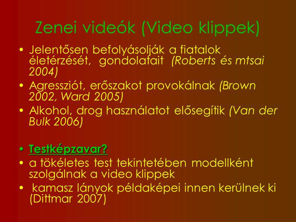 Zenei videók (Video klippek)