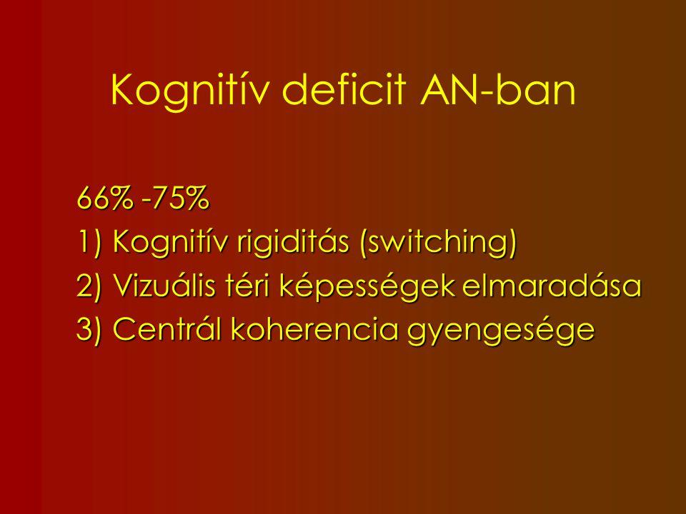 Kognitív deficit AN-ban