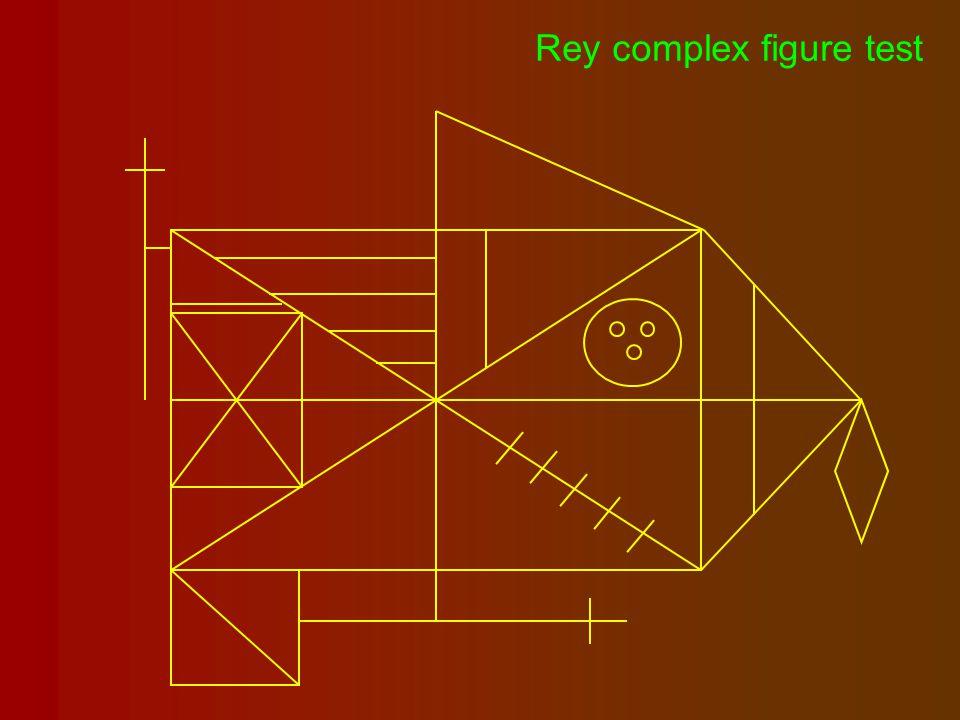 Rey complex figure test