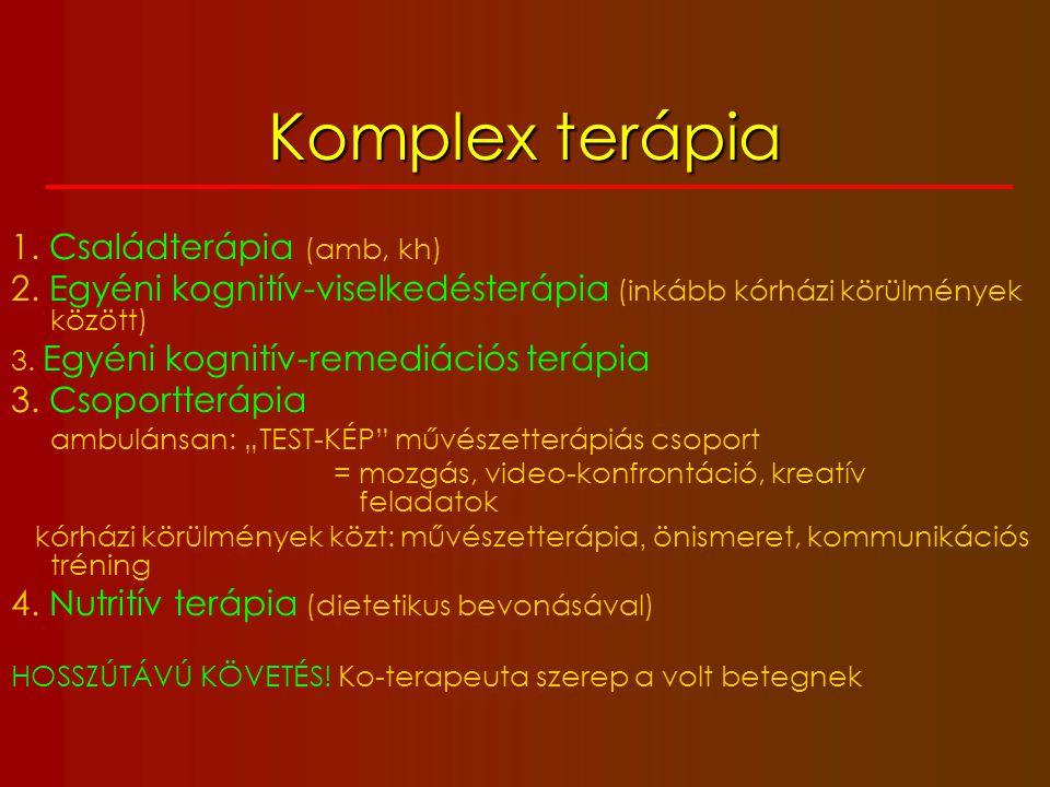 Komplex terápia 1. Családterápia (amb, kh)
