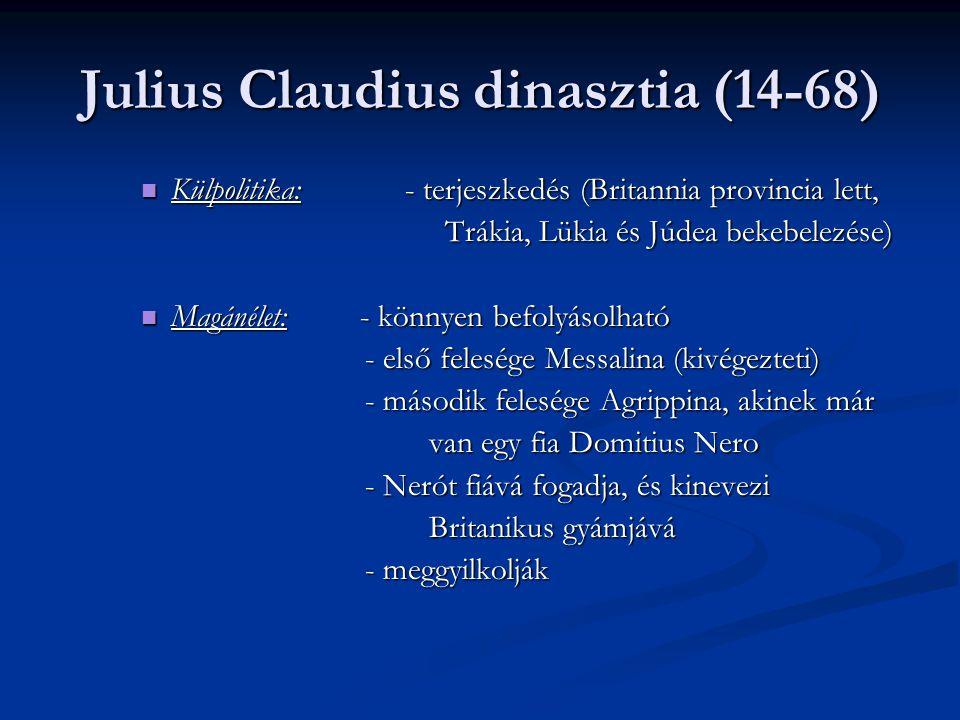 Julius Claudius dinasztia (14-68)