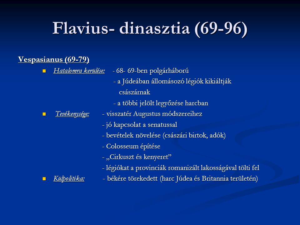 Flavius- dinasztia (69-96)