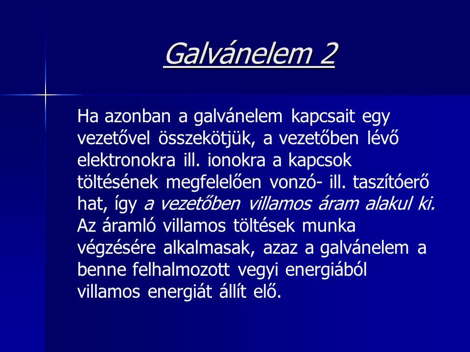 Galvánelem 2