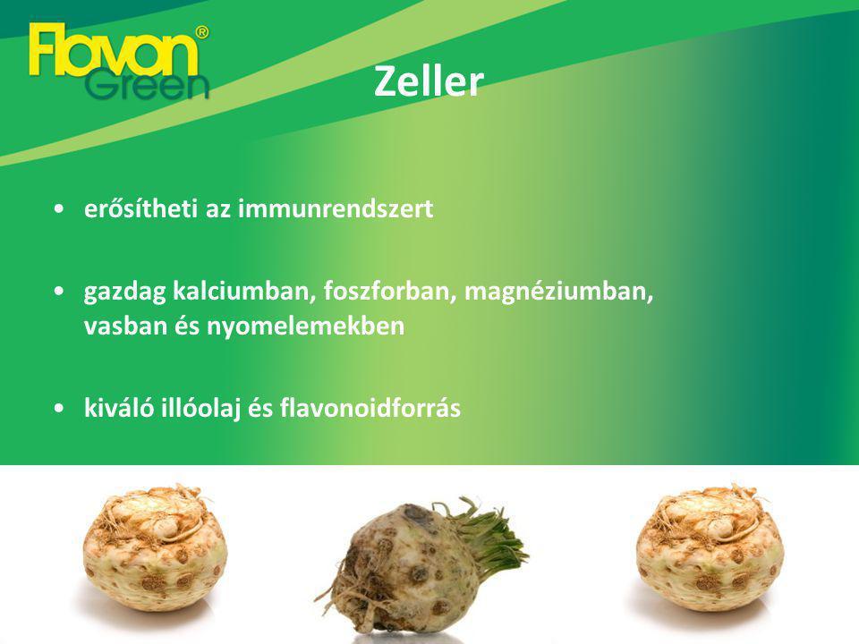 Zeller erősítheti az immunrendszert