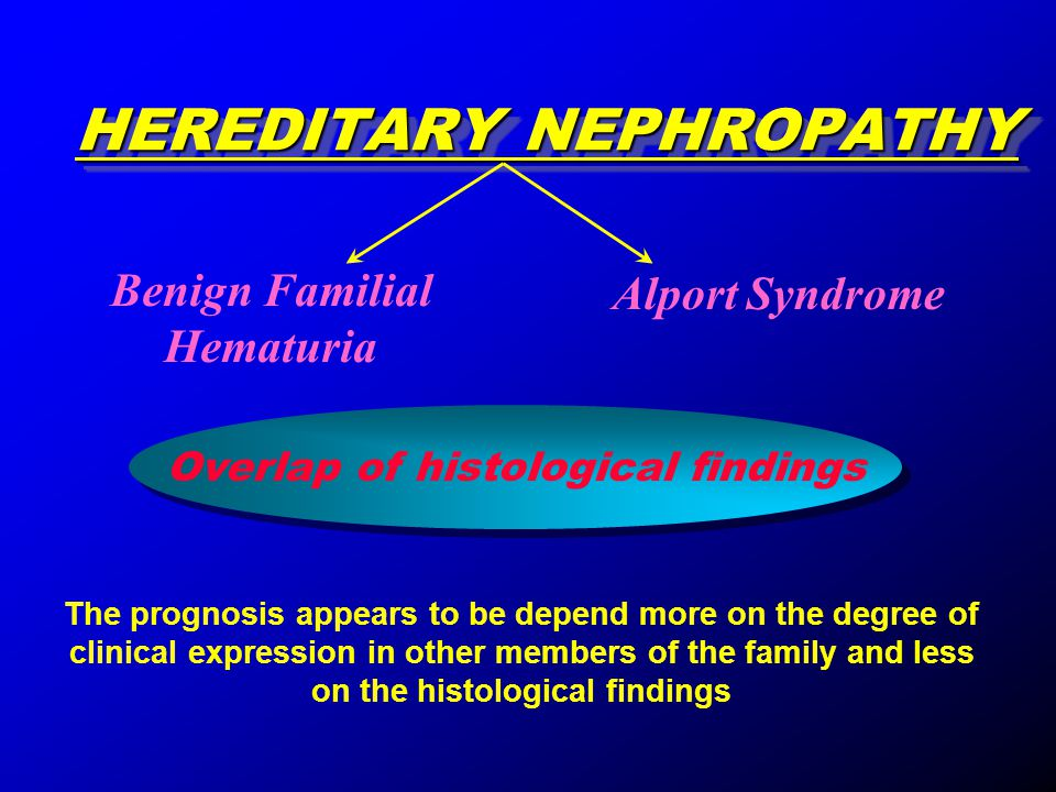 HEREDITARY NEPHROPATHY