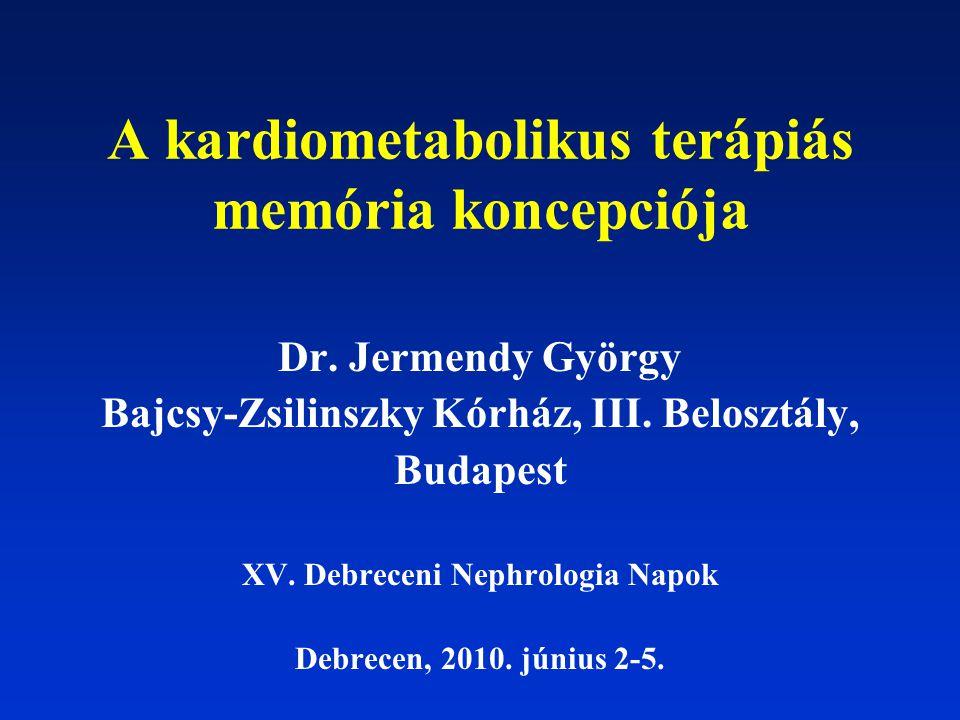 A kardiometabolikus terápiás memória koncepciója