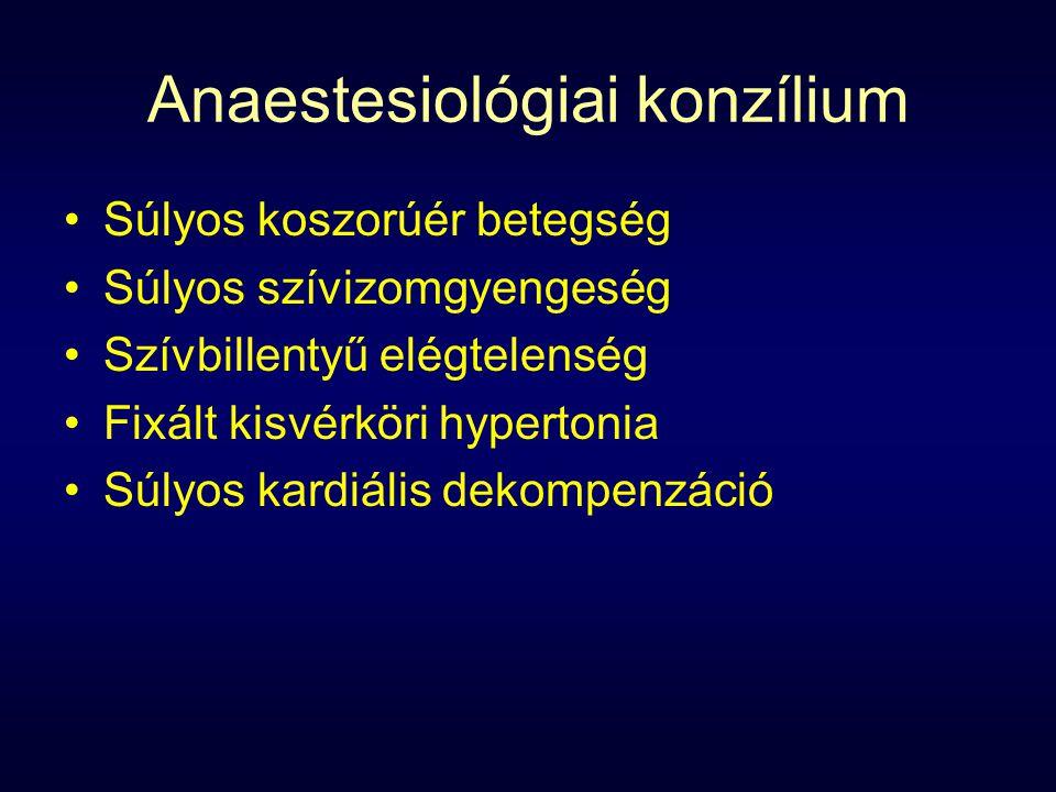 Anaestesiológiai konzílium