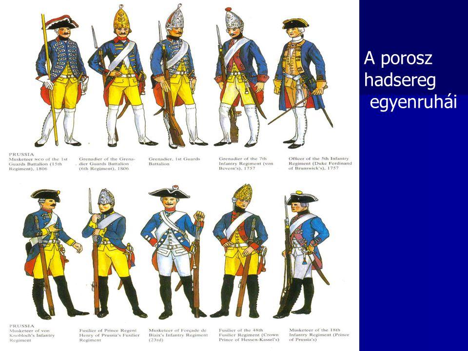 A porosz hadsereg egyenruhái