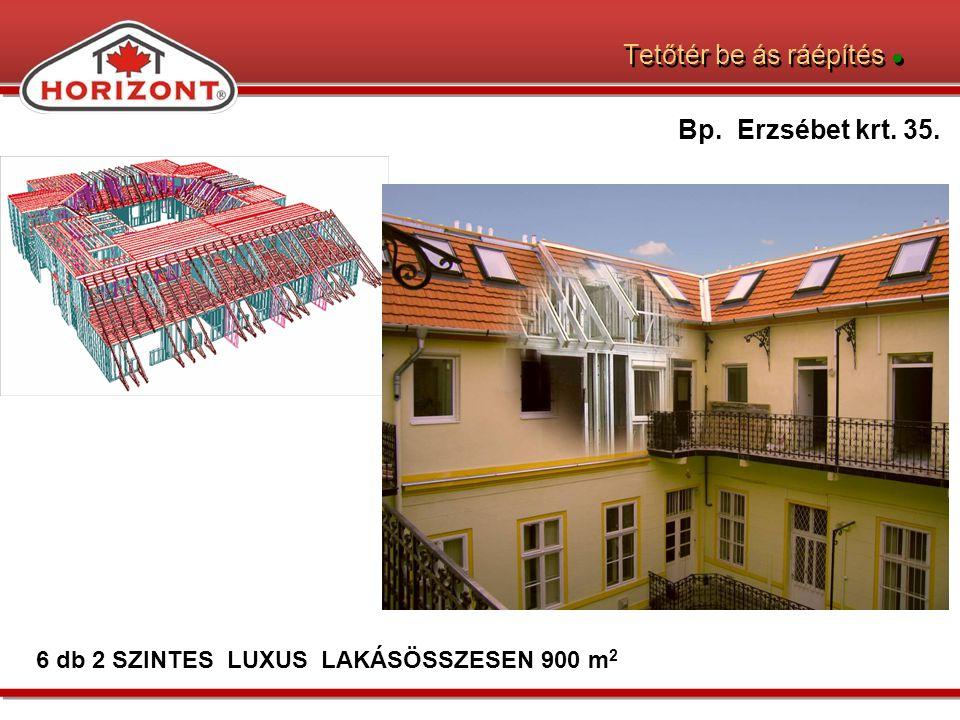 Tetőtér be ás ráépítés ●