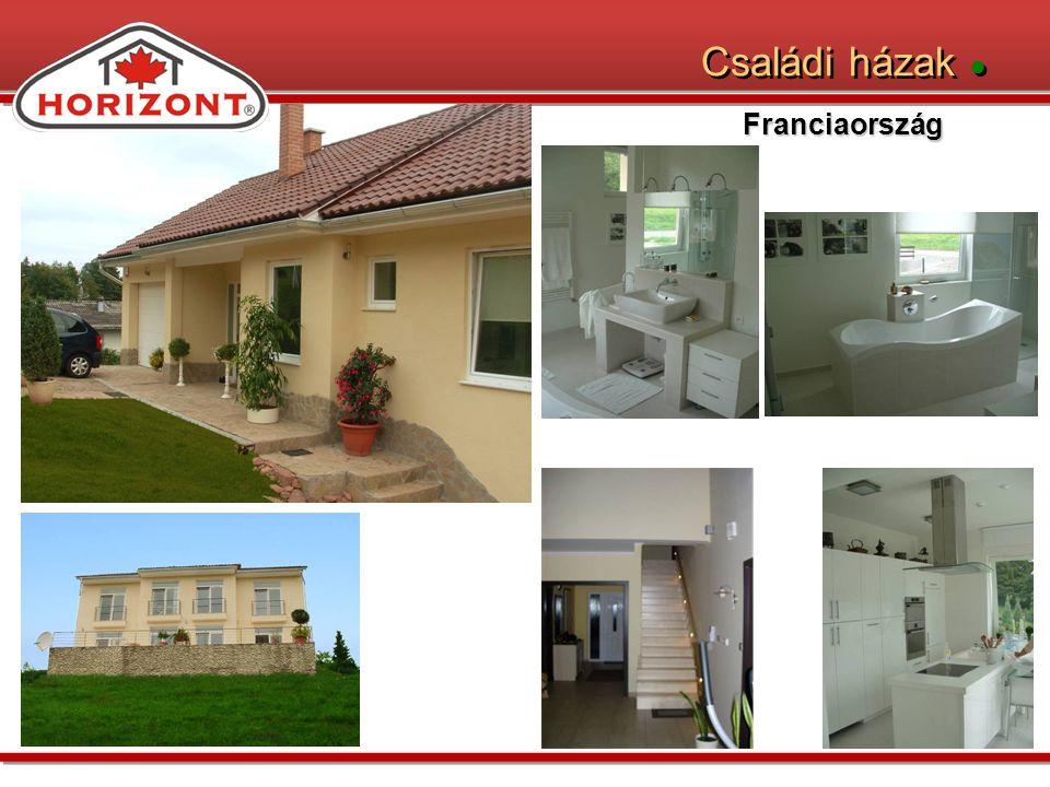 Családi házak ● Franciaország