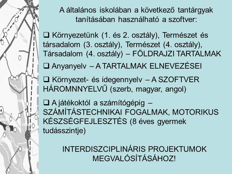 INTERDISZCIPLINÁRIS PROJEKTUMOK MEGVALÓSÍTÁSÁHOZ!
