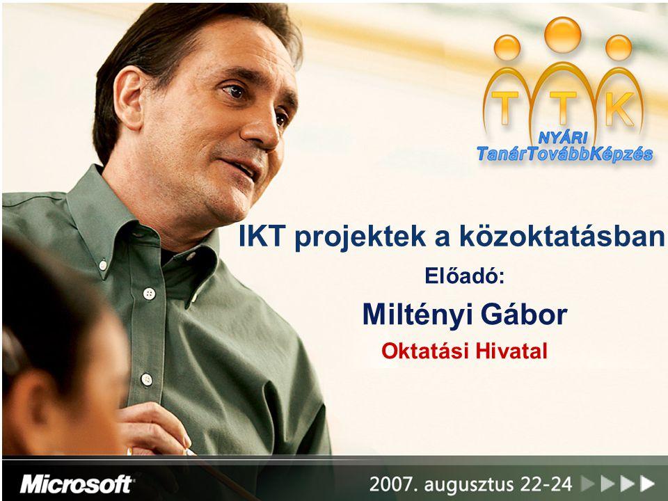 IKT projektek a közoktatásban