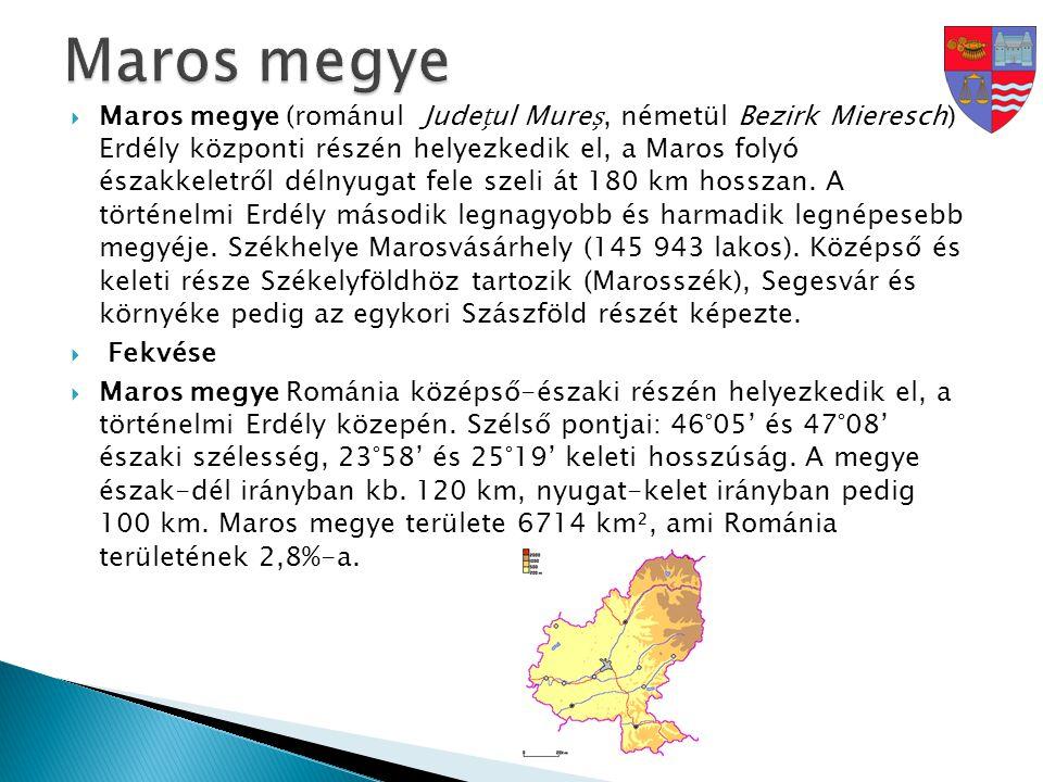 Maros megye