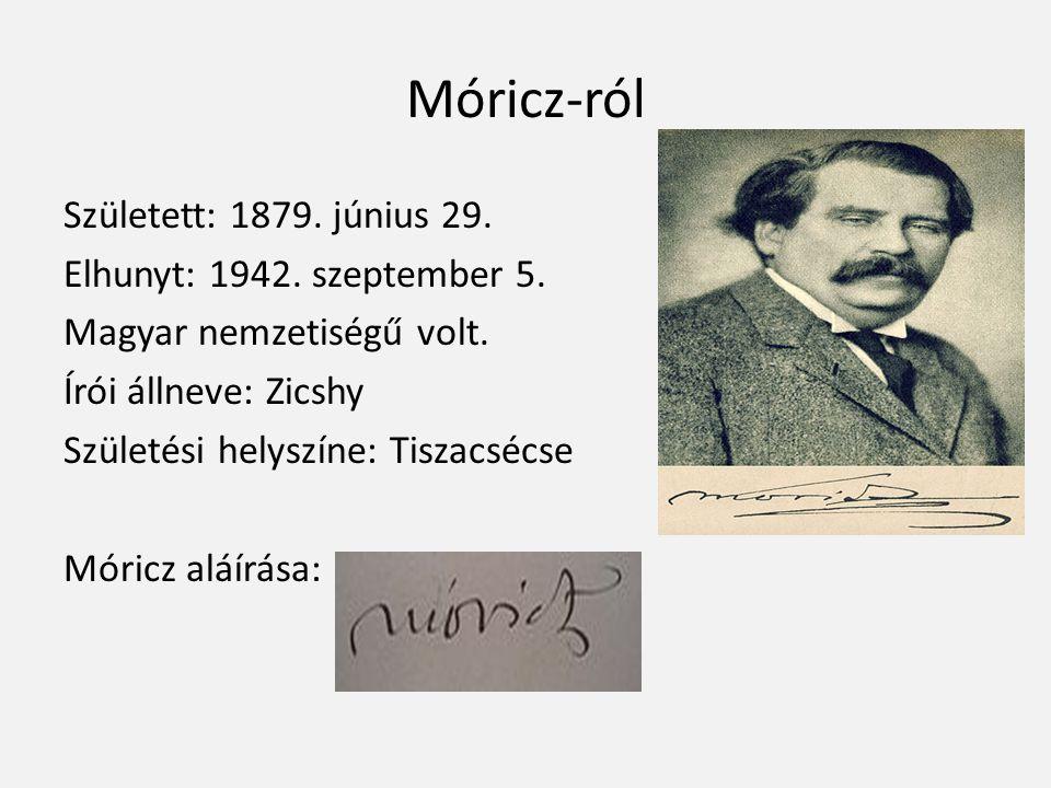 Móricz-ról