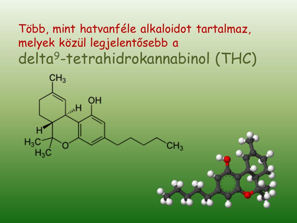 delta9-tetrahidrokannabinol (THC)