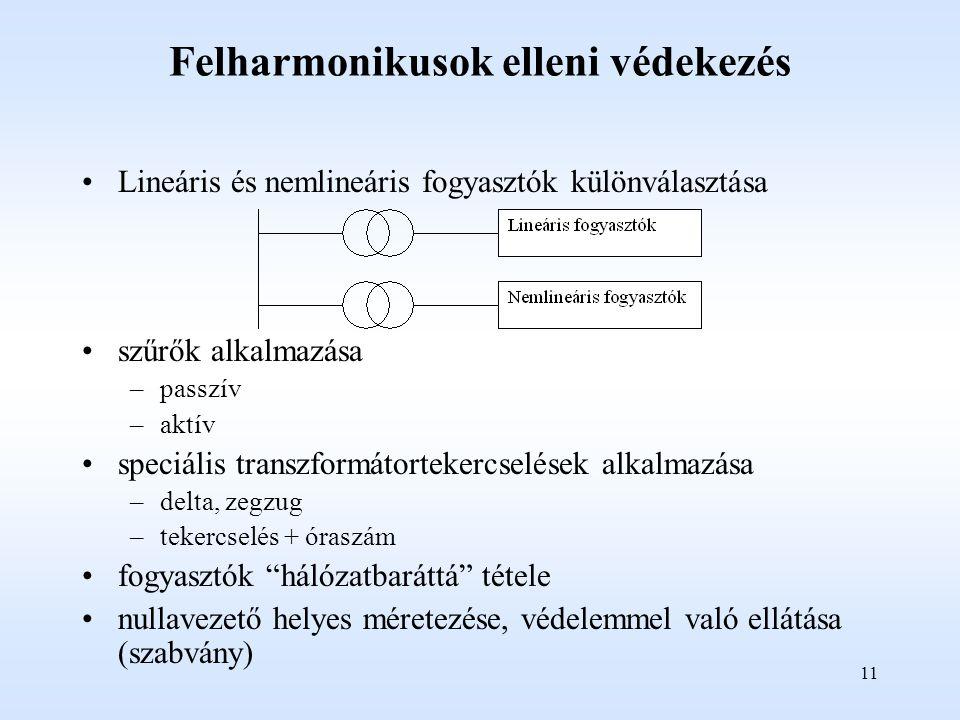 Felharmonikusok elleni védekezés