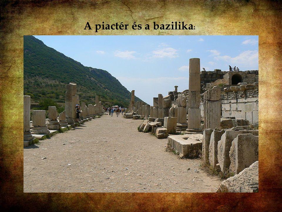 A piactér és a bazilika: