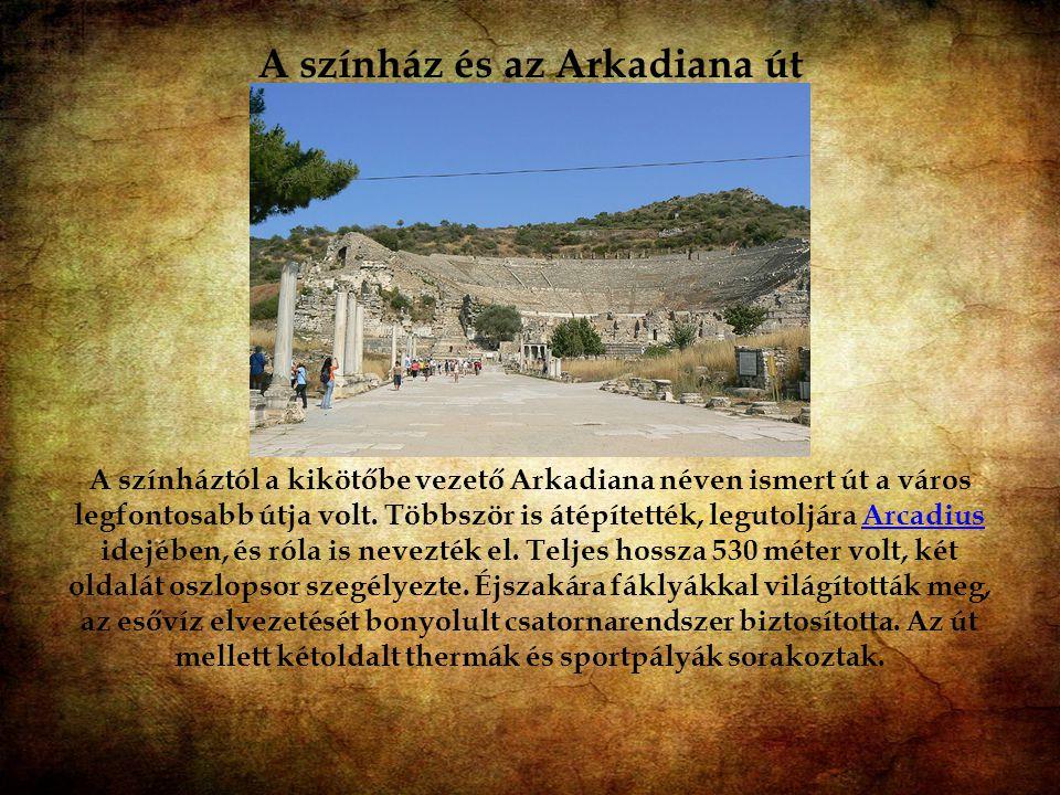 A színház és az Arkadiana út