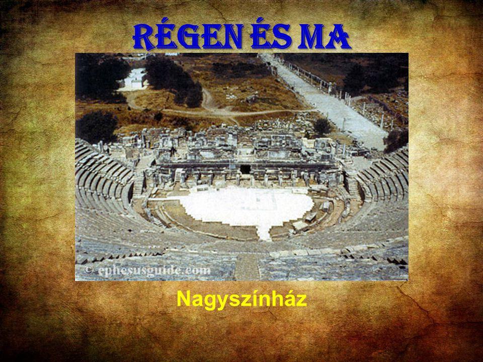 RÉGEN ÉS MA Nagyszínház