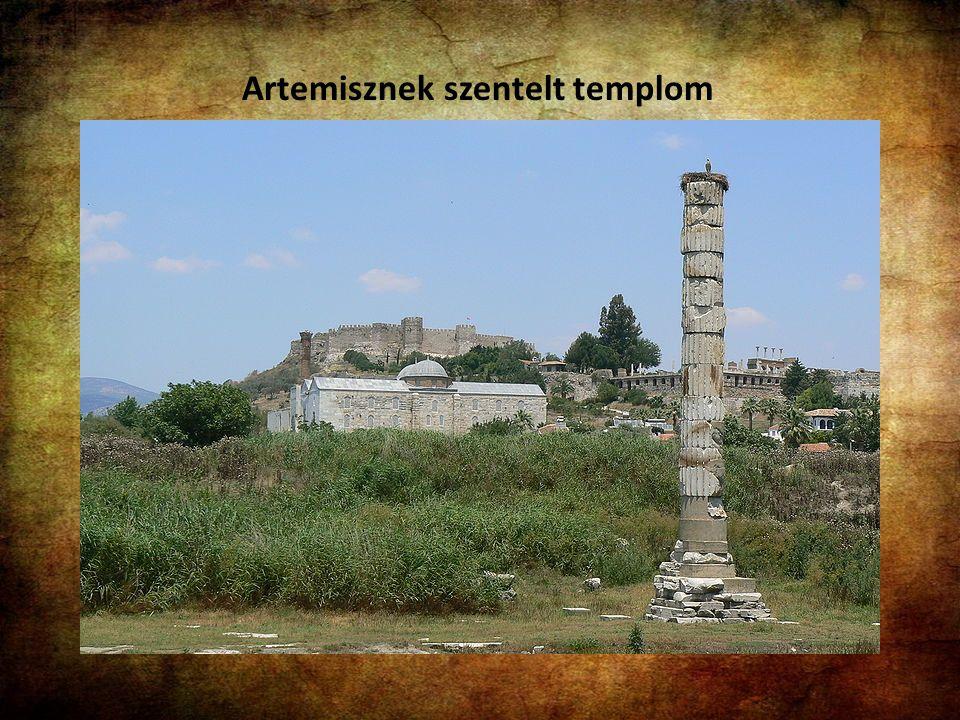 Artemisznek szentelt templom