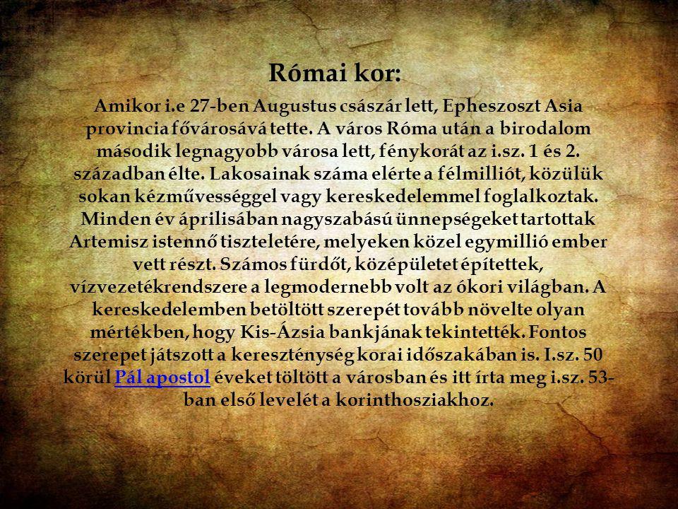 Római kor: