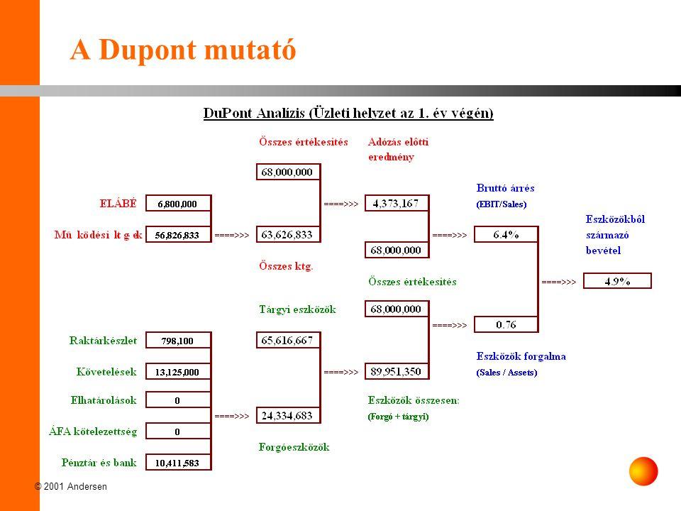 A Dupont mutató © 2001 Andersen