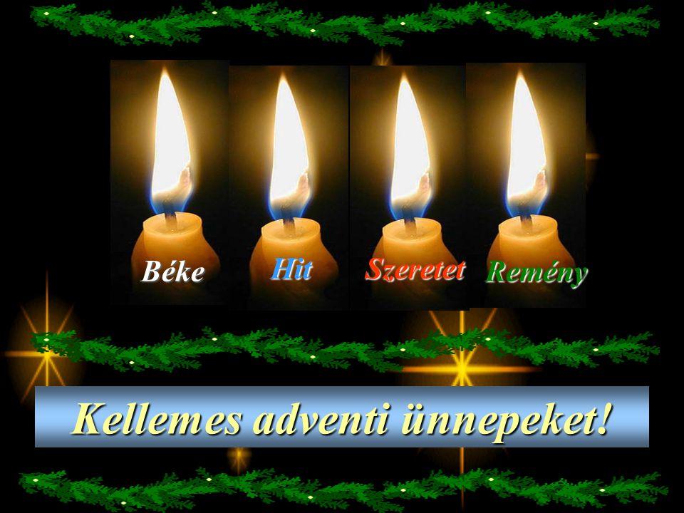 Kellemes adventi ünnepeket!