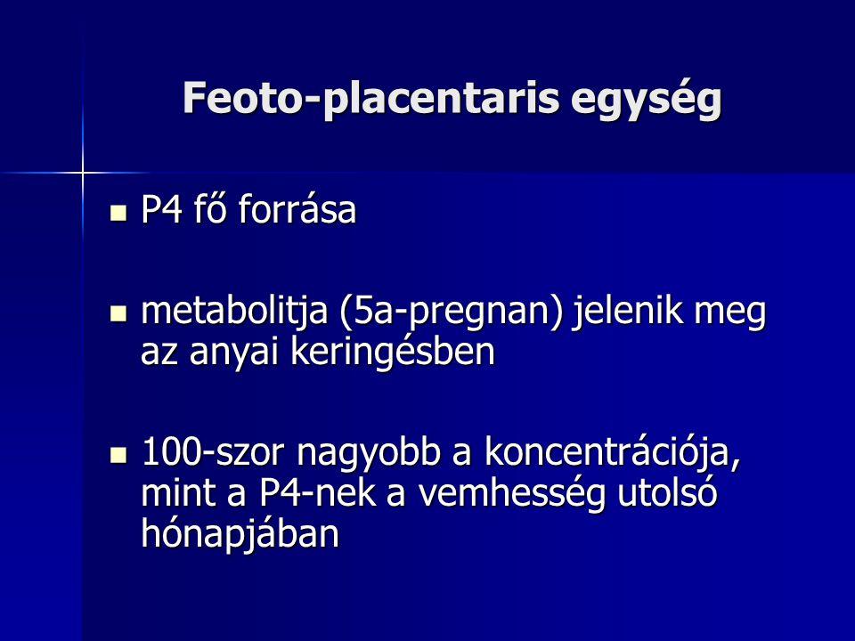 Feoto-placentaris egység