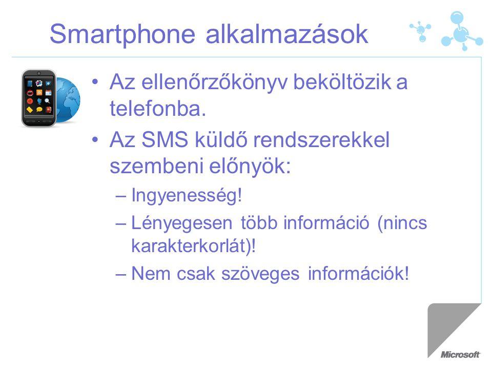 Smartphone alkalmazások