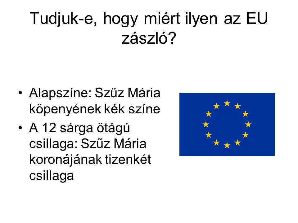 Tudjuk-e, hogy miért ilyen az EU zászló