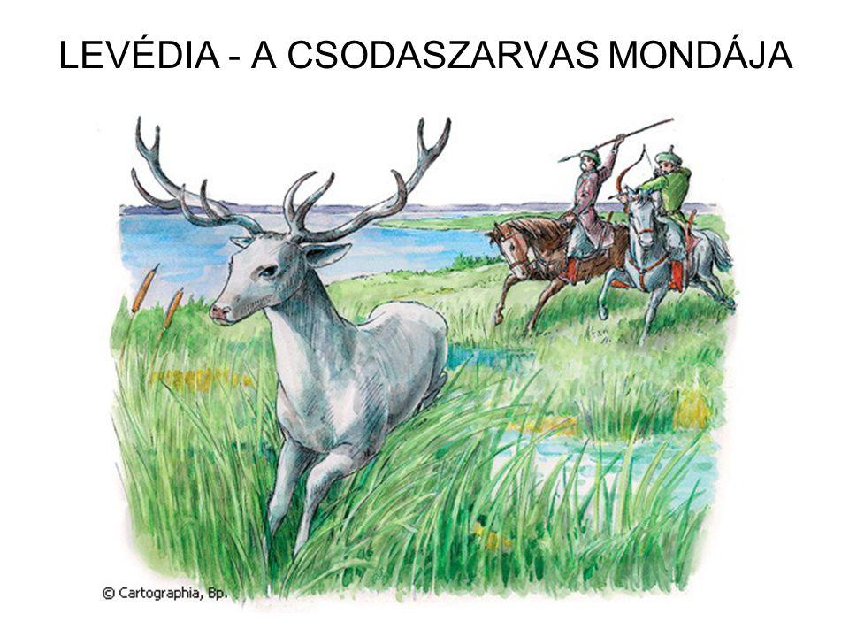 LEVÉDIA - A CSODASZARVAS MONDÁJA