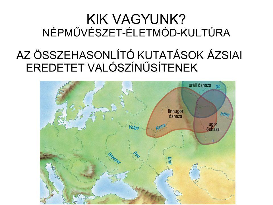 KIK VAGYUNK NÉPMŰVÉSZET-ÉLETMÓD-KULTÚRA