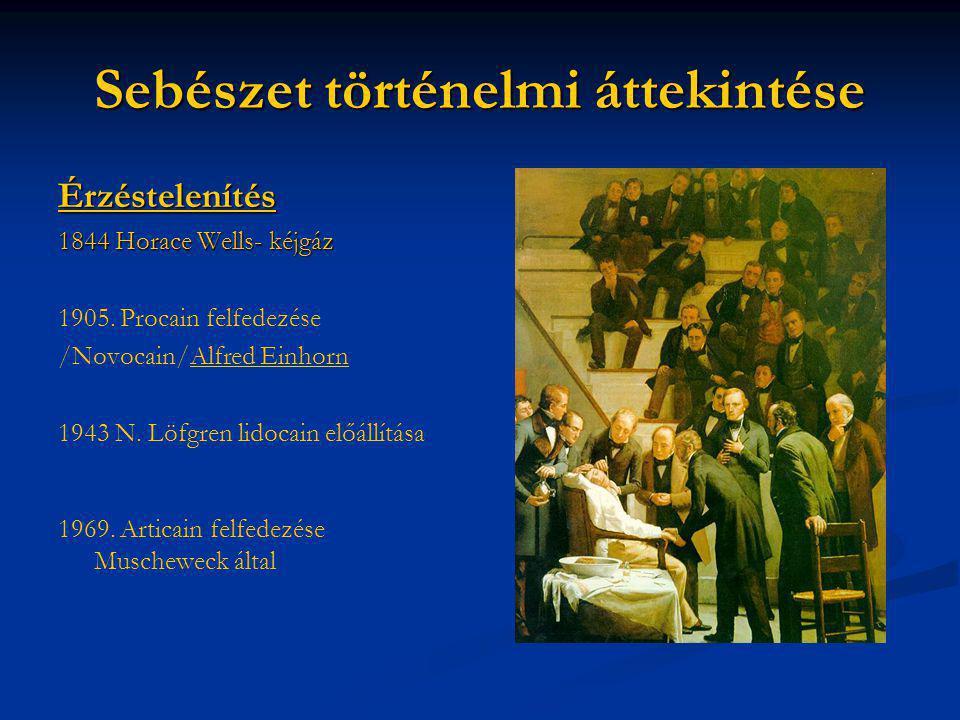 Sebészet történelmi áttekintése
