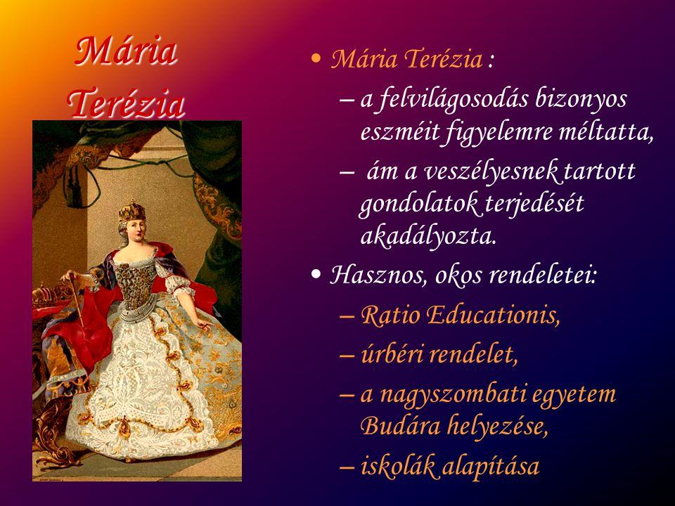 Mária Terézia Mária Terézia :
