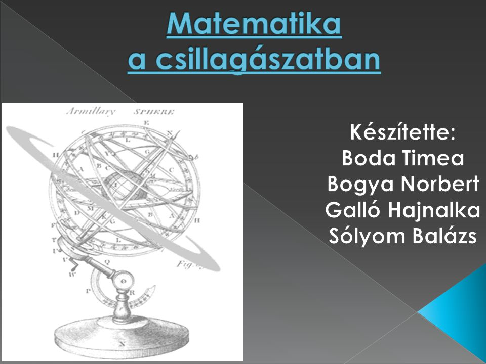 Matematika a csillagászatban