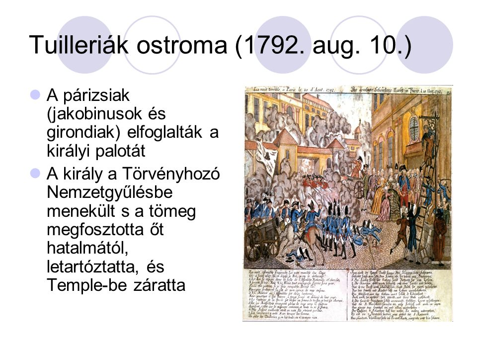Tuilleriák ostroma (1792. aug. 10.)