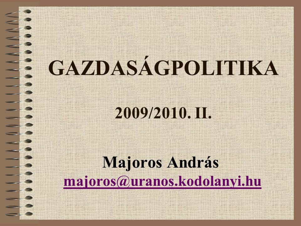 Majoros András majoros@uranos.kodolanyi.hu