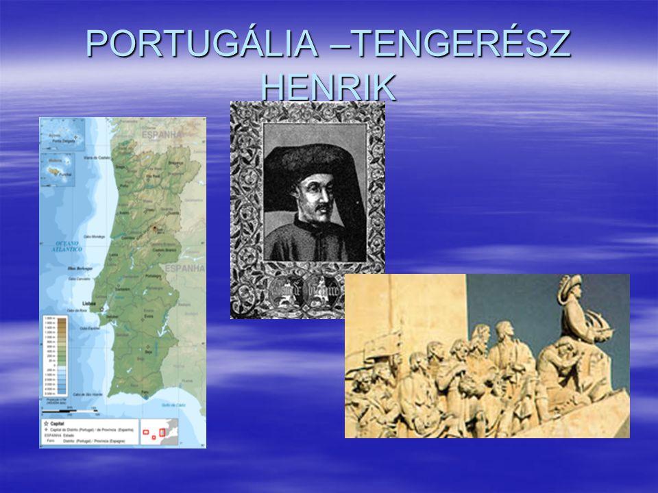 PORTUGÁLIA –TENGERÉSZ HENRIK