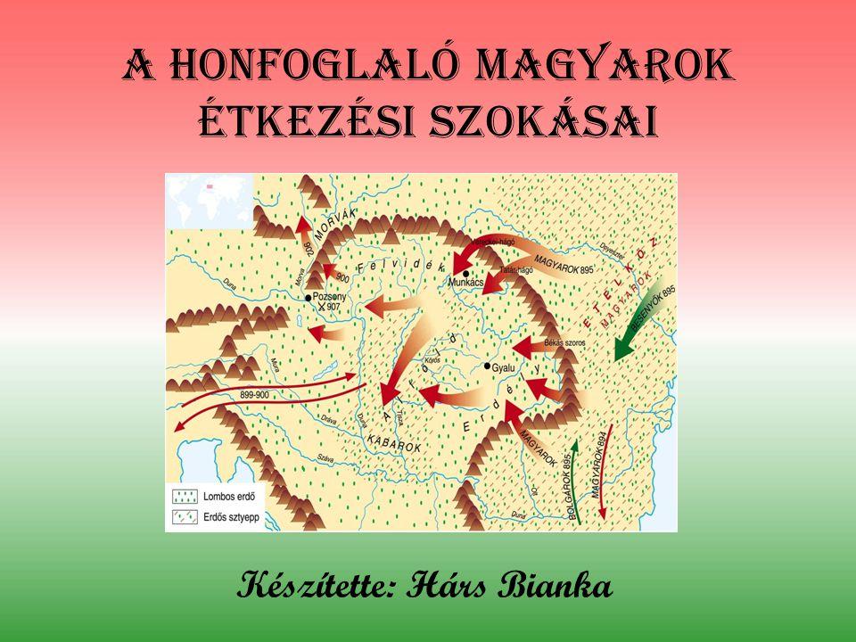 A honfoglaló magyarok étkezési szokásai