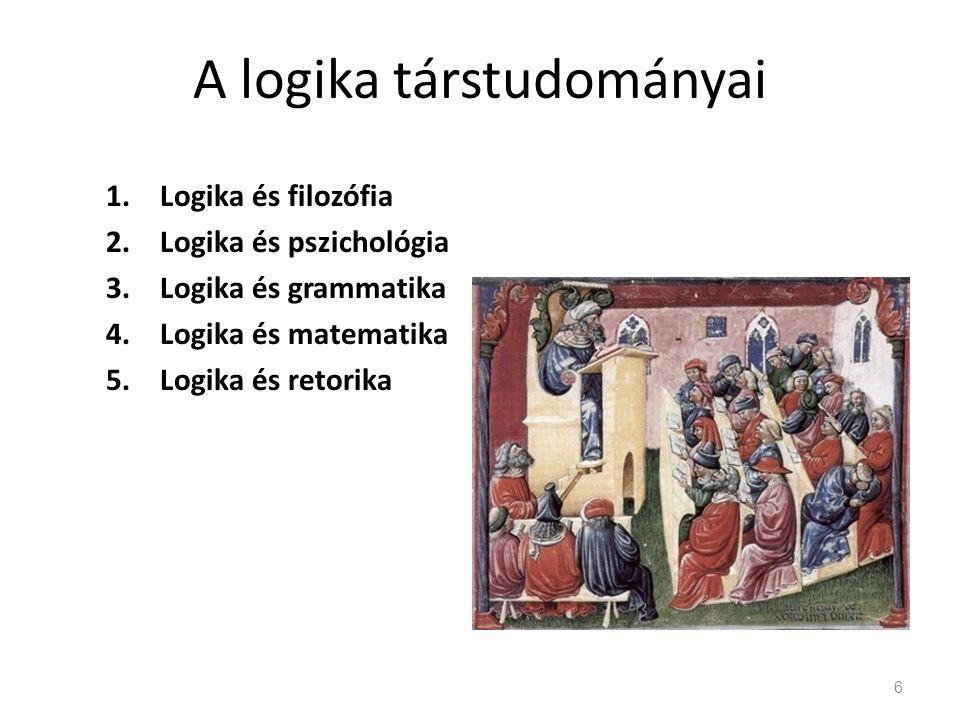 A logika társtudományai