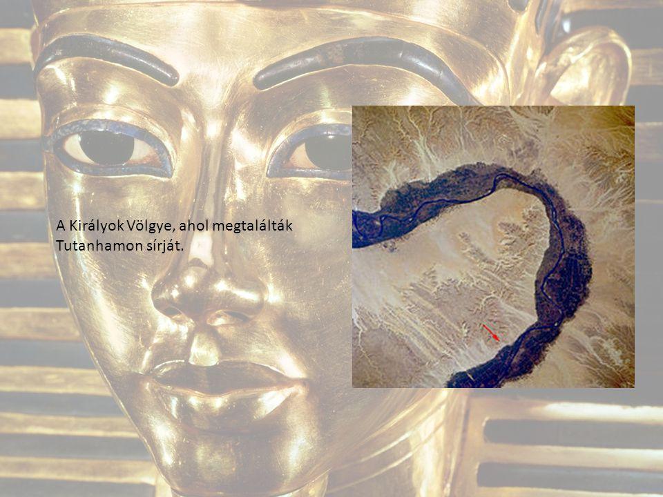 A Királyok Völgye, ahol megtalálták Tutanhamon sírját.