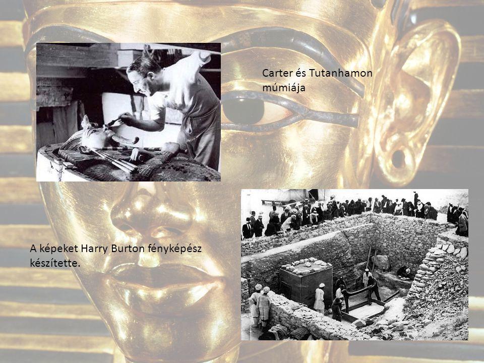 Carter és Tutanhamon múmiája