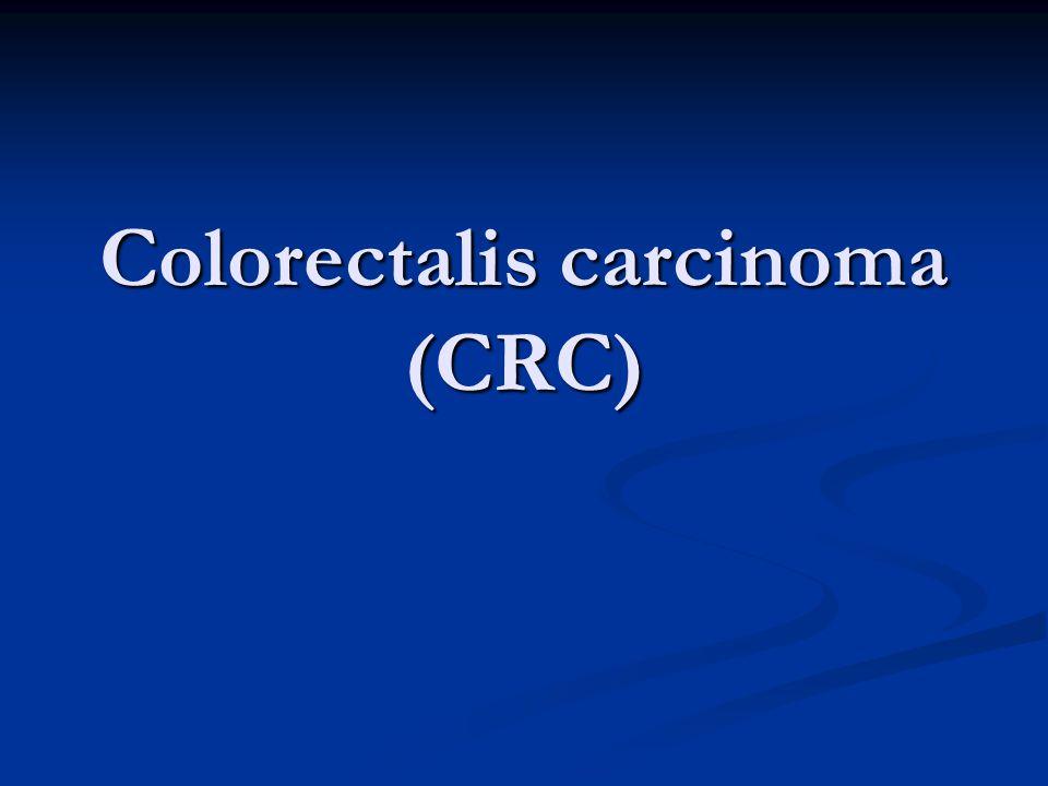 Colorectalis carcinoma (CRC)
