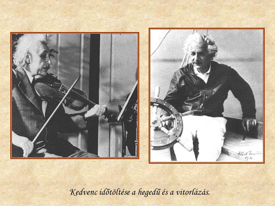 Kedvenc időtöltése a hegedű és a vitorlázás.