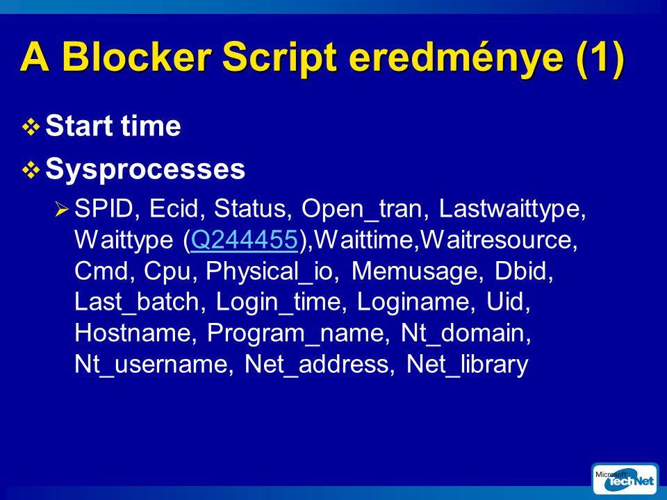 A Blocker Script eredménye (1)